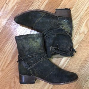 BedStu Rustic leather Boots